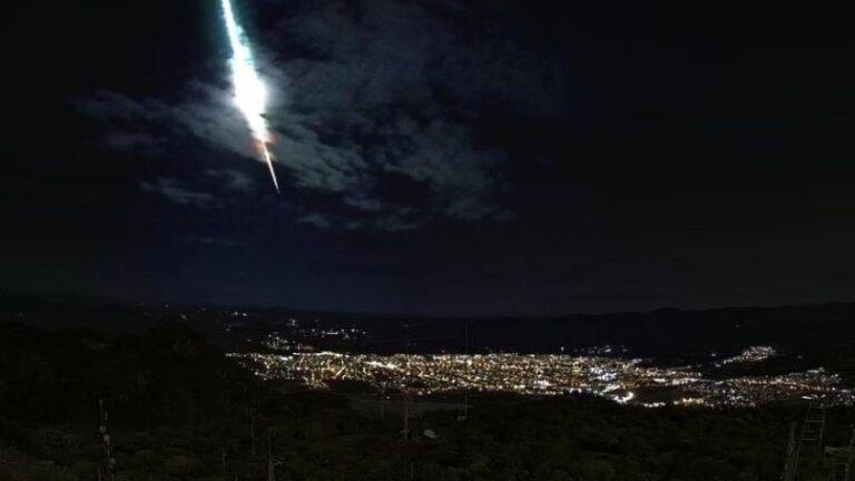 Meteoro é visto no céu do sertão nordestino e cruza cidade de Princesa Isabel na PB