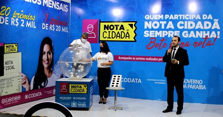 Nota Cidadã divulga os novos 21 ganhadores com R$ 60 mil em prêmios
