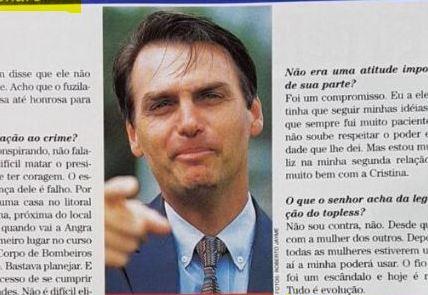 """Bolsonaro já defendeu aborto em entrevista: """"tem de ser uma decisão do casal"""""""