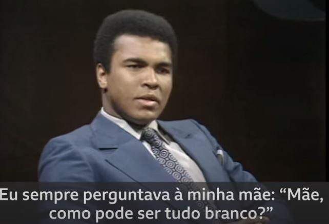 OPINIÃO | Por que tudo é branco? Muhammad Ali completaria hoje 79 anos.