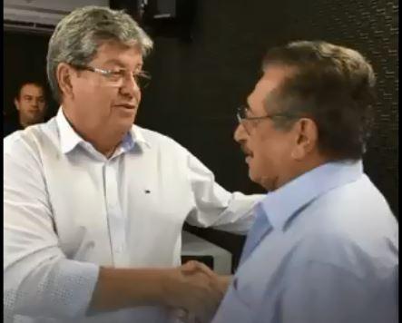 Em mensagem nas redes sociais, Governador João Azevedo presta homenagem ao Senador José Maranhão