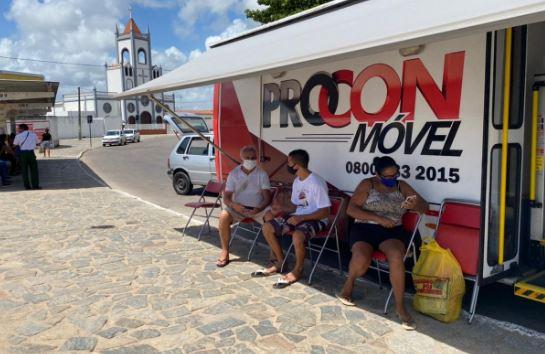 'Procon-JP no seu bairro' prossegue o atendimento itinerante no Ponto de Cem Réis esta semana