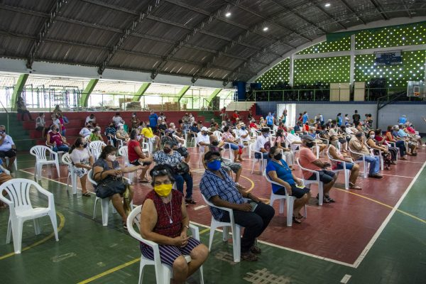 João Pessoa é a segunda capital brasileira mais adiantada na vacinação de idosos contra a Covid-19