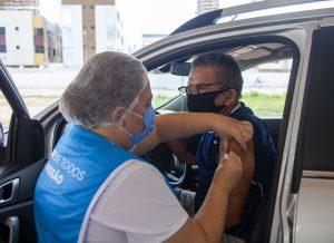 João Pessoa continua aplicação da segunda dose das vacinas Astrazeneca e Coronavac nesta quarta-feira