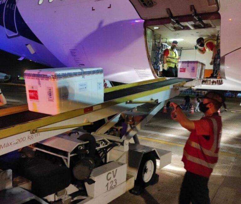 A Paraíba recebeu mais 56,4 mil doses da CoronaVac nesta quarta
