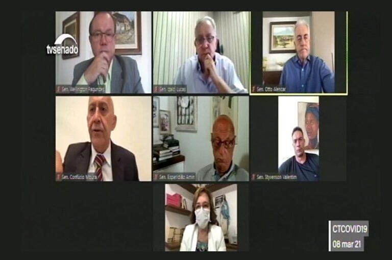Covid-19: comissão ouvirá ministros da Saúde, Economia e Relações Exteriores