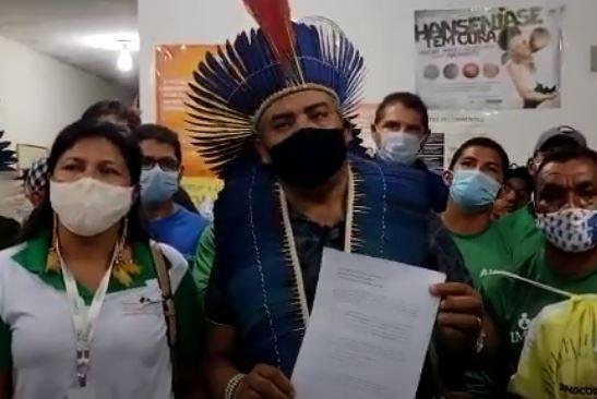 Urgente: Comunidade indígena Potiguara libera depois de 24hs, técnico de enfermagem que estava preso em aldeia e pede exoneração de tenente do exército