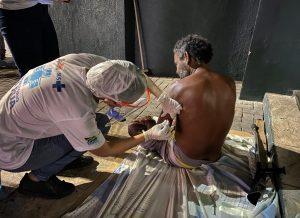 Prefeitura de João Pessoa leva cuidados em saúde e atendimento às pessoas em condição de rua