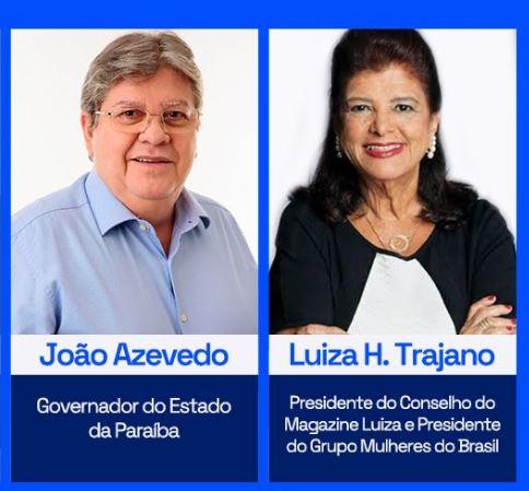 Em live com Luiza Trajano, João Azevêdo amplia para mais 24 municípios as bolsas de estágio do programa Primeira Chance