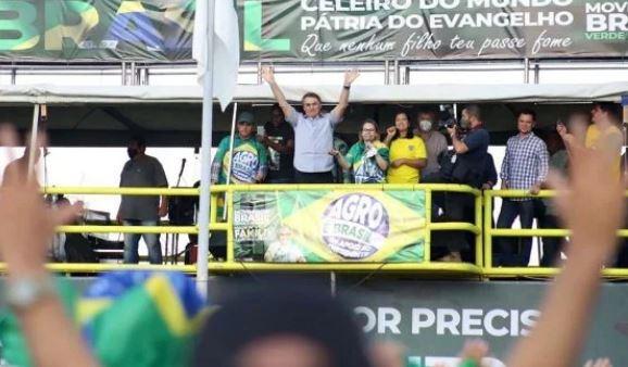 Golpismo no ar: General, ministro da Defesa discursa em manifestação bolsonarista