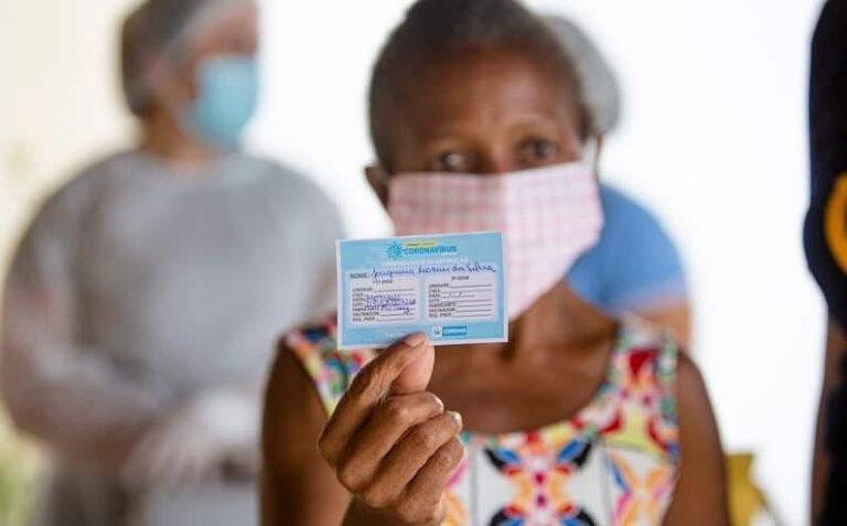 Paraíba já vacinou mais de 1 milhão de pessoas e é o primeiro do Nordeste na segunda dose