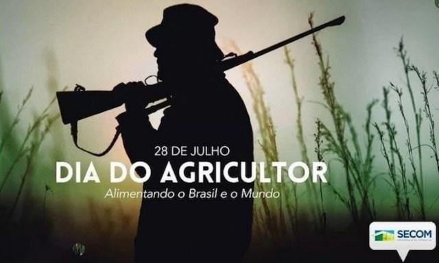 Planalto usa imagem de homem armado para homenagear Dia do Agricultor e gera polêmica